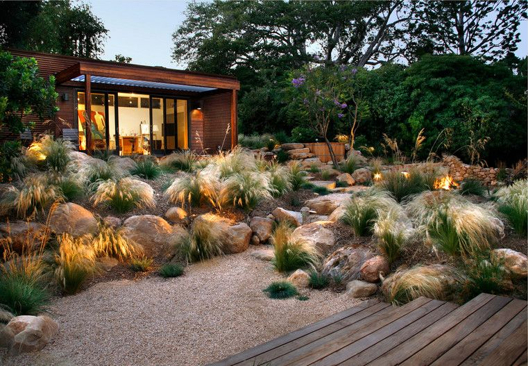 Grace Design Associates Inc Rock Garden Design Xeriscape Landscaping Landscape Design