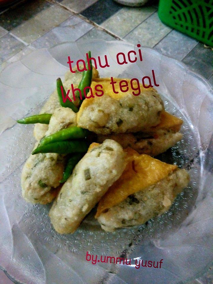 Tahu Aci Khas Tegal By Ummu Yusuf Ahsan Langsungenak Com Resep Memasak Cemilan Resep Makanan Pembuka