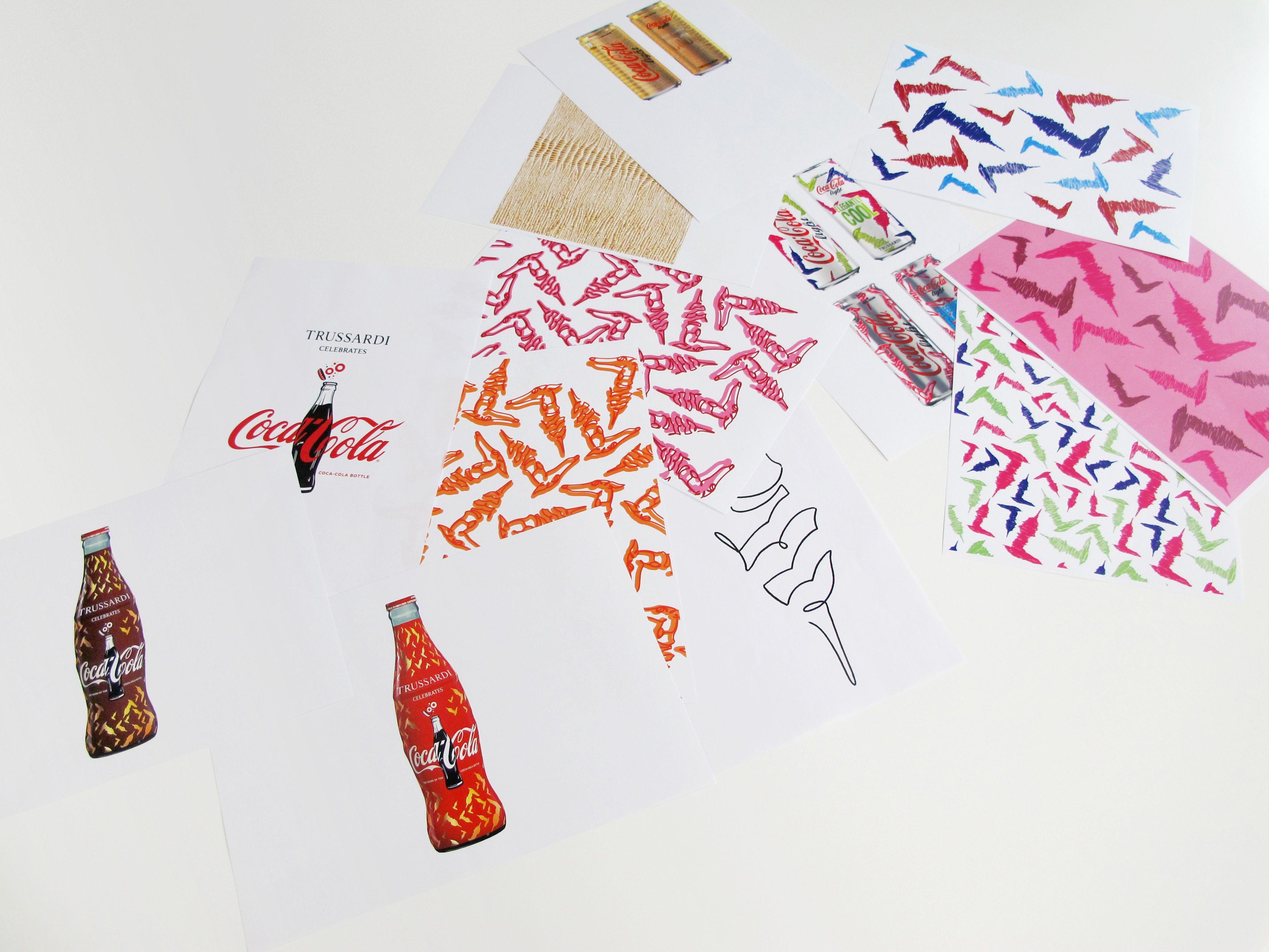 Il marchio del levriero veste Coca-Cola light e l'iconica bottiglia Coca-Cola nell'anno del suo centenarioTrussardi è raffinata ed elegante,