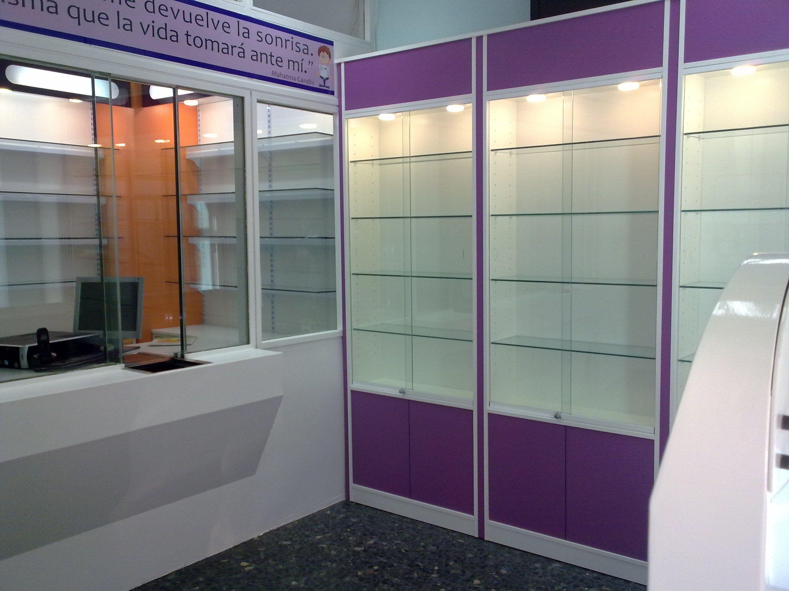 Vitrinas para tiendas en cristal o metracritlato - Vitrinas de exposicion ...