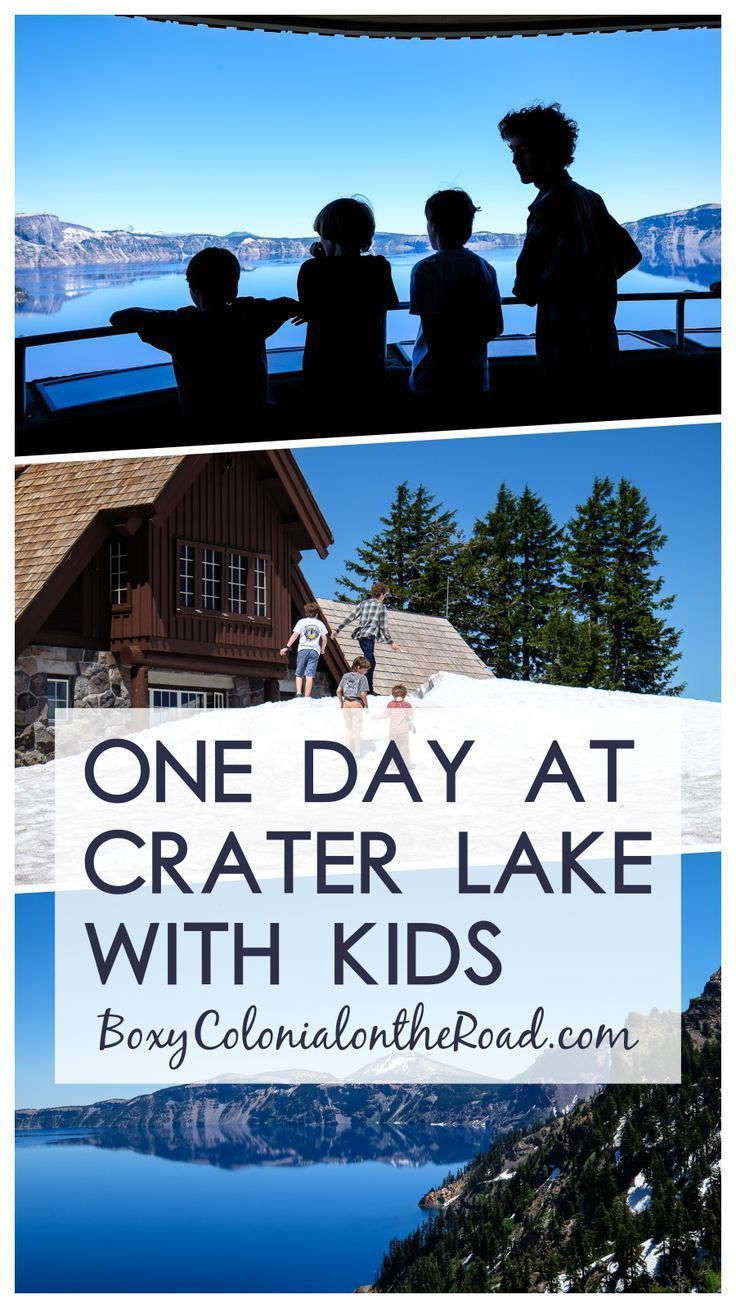 Believe the Hype: Crater Lake is Really, Really Blue - Boxy Colonial On the Road