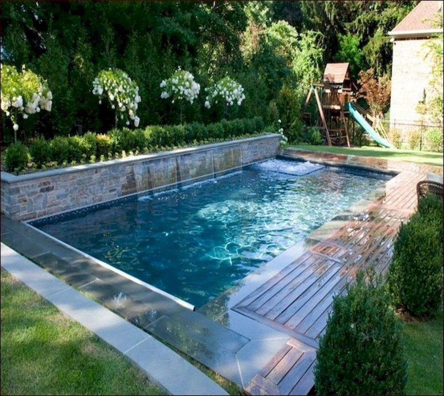 34 Lovely Small Swimming Pool Design Ideas On A Budget ...
