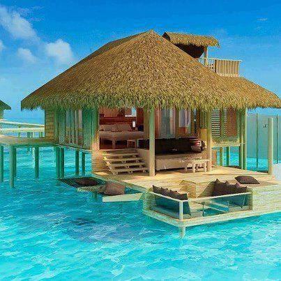 Six Senses resort, Maldives