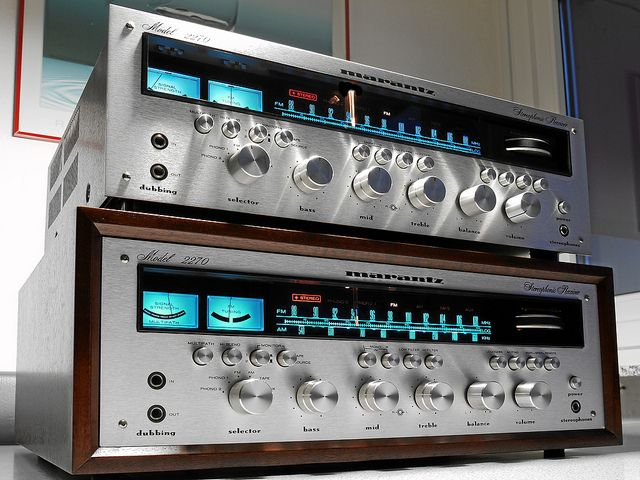 Marantz 2270 Stereo Receiver Stereo Marantz Vintage Electronics