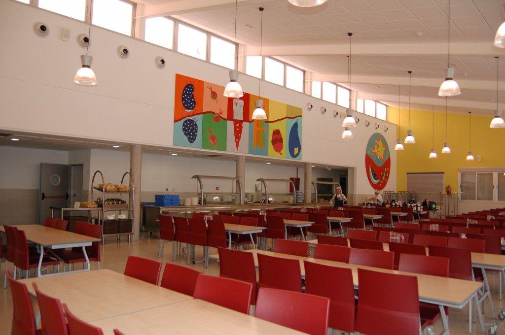 Decoracion comedor escolar buscar con google crie for Mesas comedor escolar