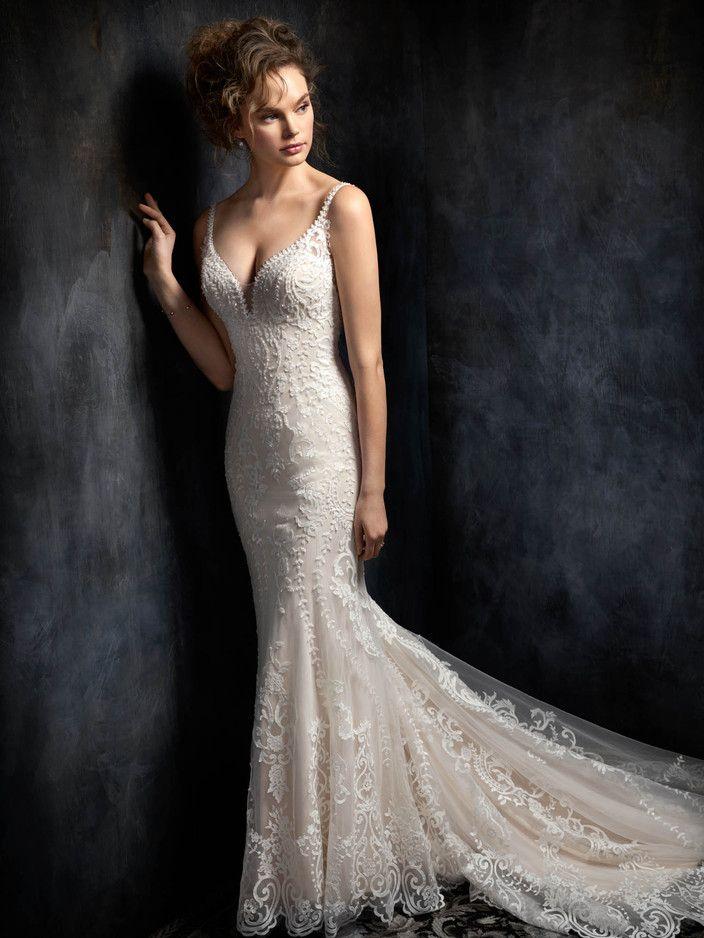 kenneth winston fall 2017 bridal sleeveless halter neck