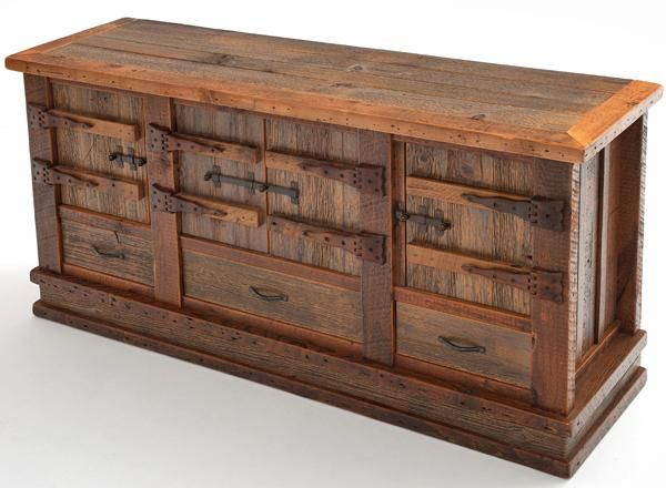 Barnwood Furniture Home Xpressions Reclaimed Wood Sideboard