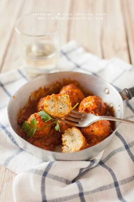 Photo of Stewed vegan tofu meatballs