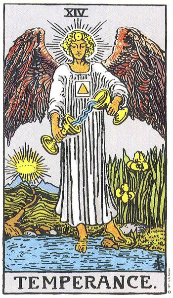 Temperance, Balance, Health, Combination