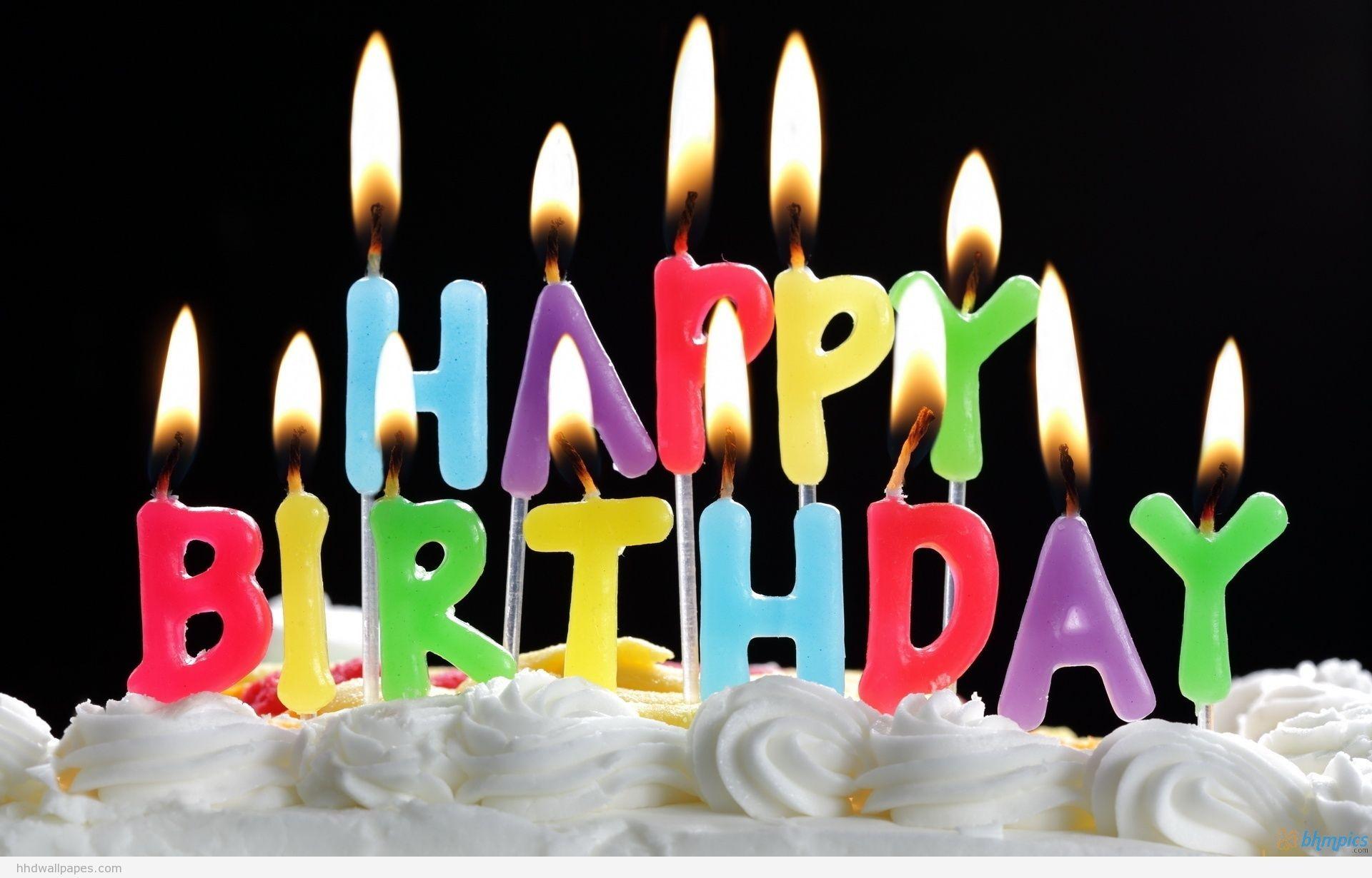 Happy Birthday Wallpaper With Names Happy Birthday Pinterest