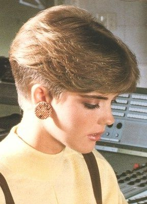 80s Hairstyle 181 By MsBlueSky Via Flickr