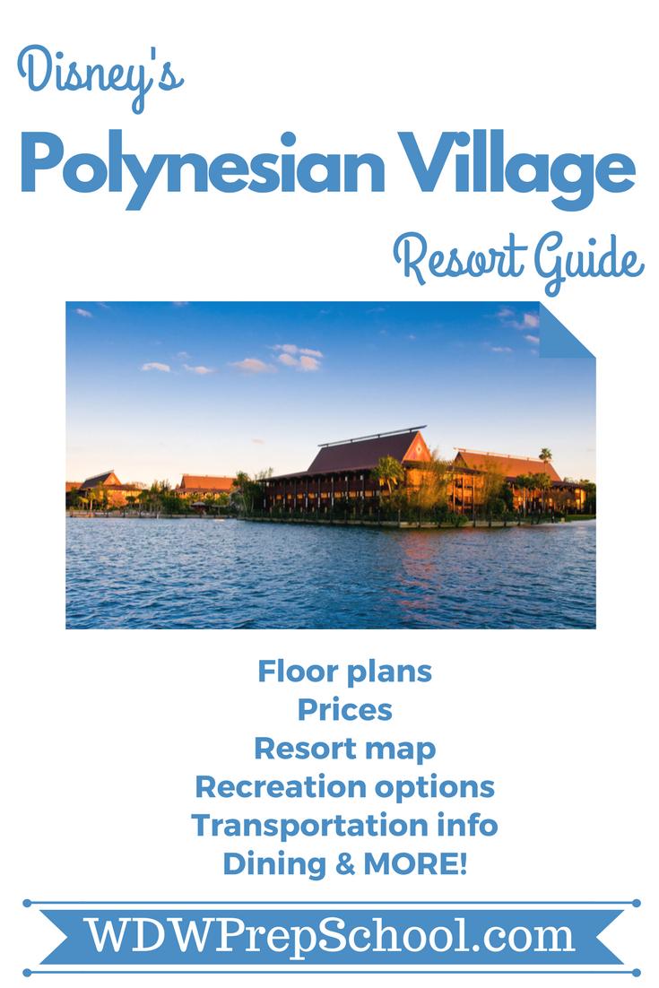 Polynesian Village Resort | Disney World Resorts | Polynesian ... on