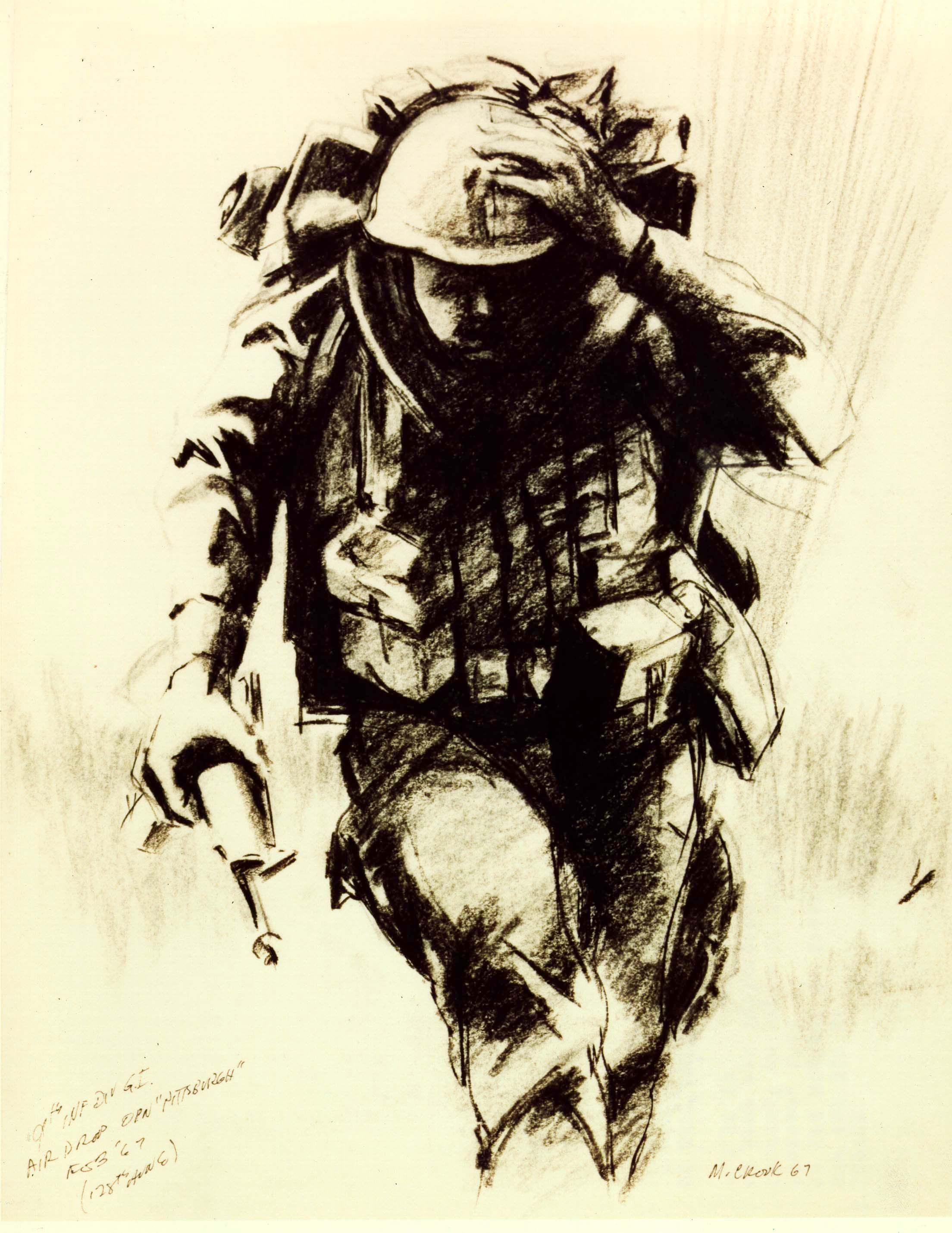 tribute to us army infantry artwork peer support pinterest