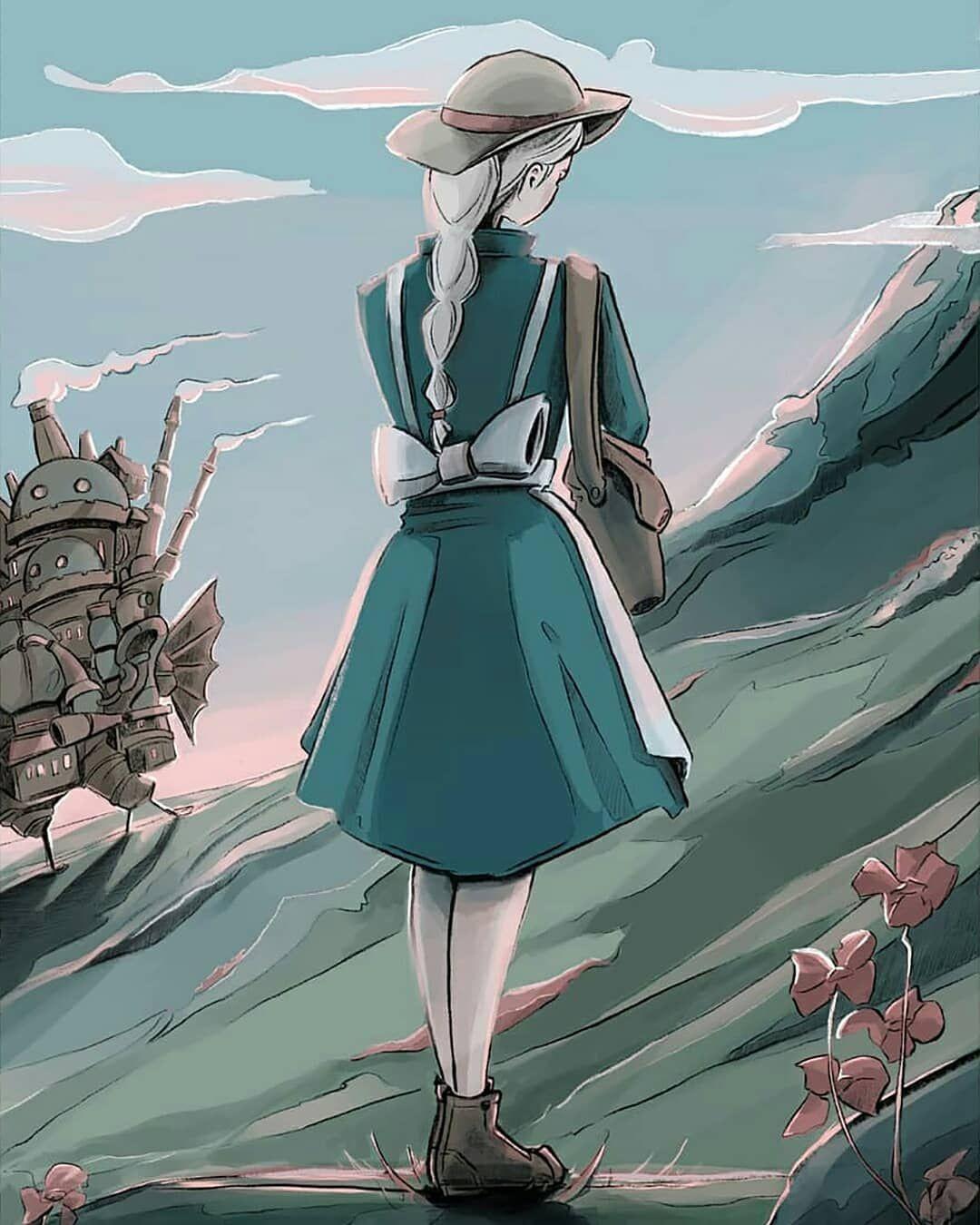 """Studio Ghibli スタジオジブリ on Instagram """"fanart by"""