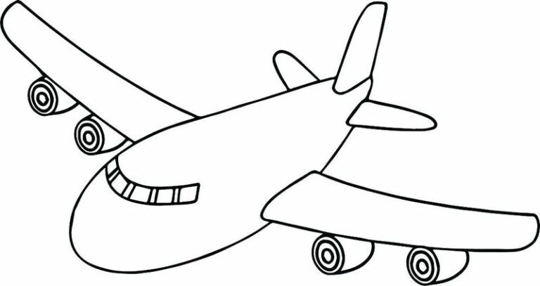 Free Airplane Coloring Pages Printable - Printable Coloring Pages To Print  Airplane Coloring Pages, Cartoon Coloring Pages, Preschool Coloring Pages
