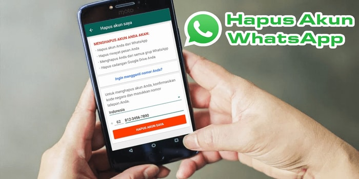 Cara Menghapus Akun Whatsapp Secara Permanen Gentooz Pesan Instan Penghapus Aplikasi