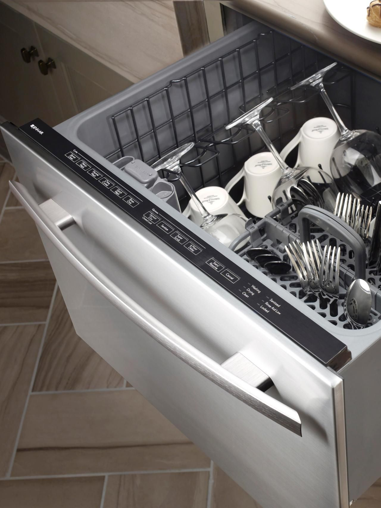 cgi style rack inch drawer bin ajmadison integrated fully with stainless ge dishwasher