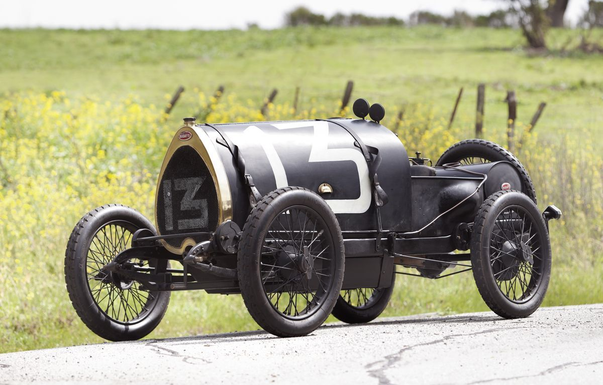 Miller TNT, Bugatti Type 13 headed to auction | Oldtimer cars und ...