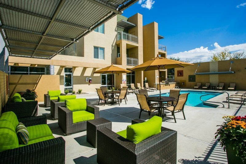 Sundeck & Lounge Next to The Pool at Ladera Vista