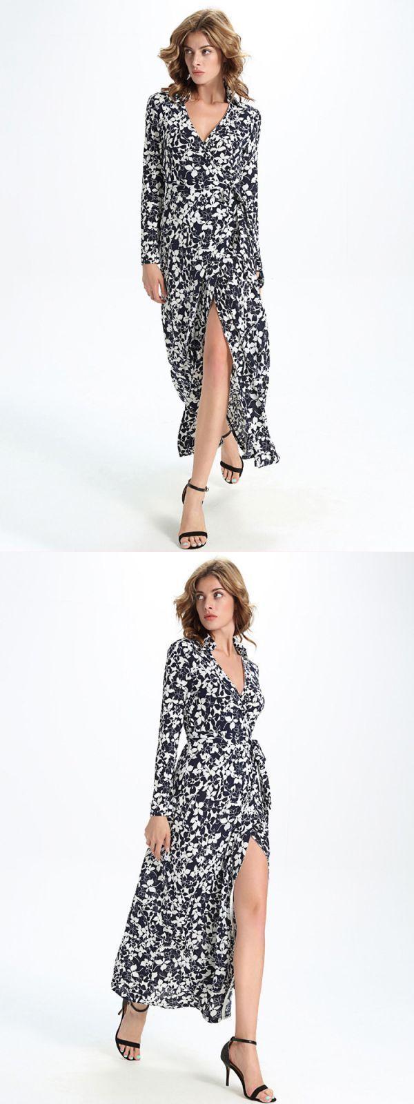 Women Dot Printed Dress NDGDA Short Sleeve Bandage Button Casual Beach Dress