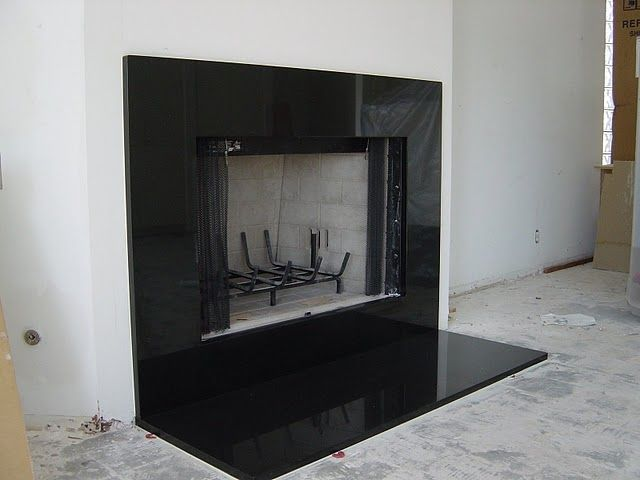 Exceptional White Fireplace With Black Granite Part - 13: Wood Adhesive To Cover Fireplace Tiles Images | Stovax Black Galaxy Granite  - Gazco, Stovax