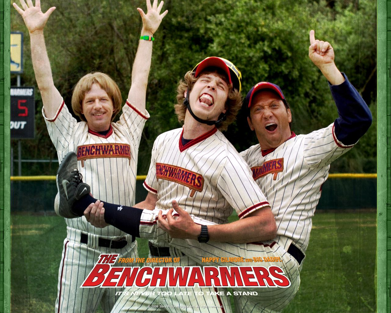 The Benchwarmers Thewallpapers Free Desktop Wallpapers For Hd Widescreen And Mobile The Benchwarmers Jon Heder Movies