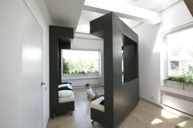 furniture on wheels. Modern Interior Design For Students With Modular Furniture On Wheels W
