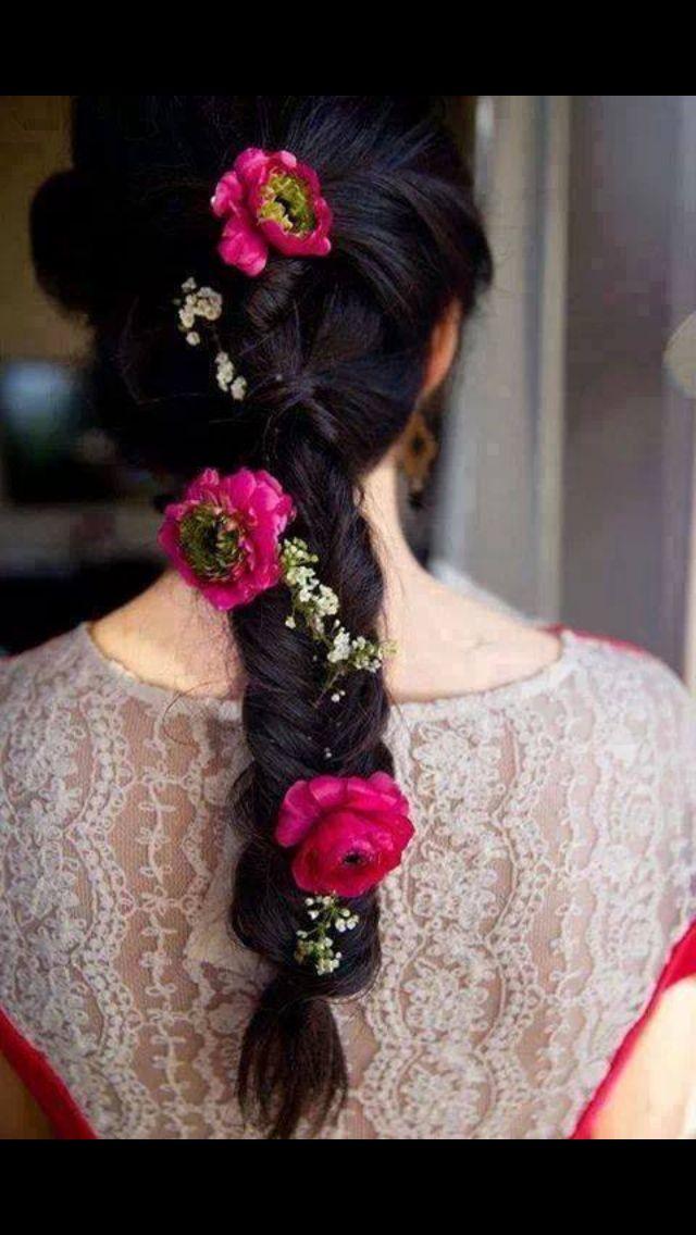 I Mehndi Hairstyles Dailymotion : Beautiful mehndi hairstyle pakistani wedding