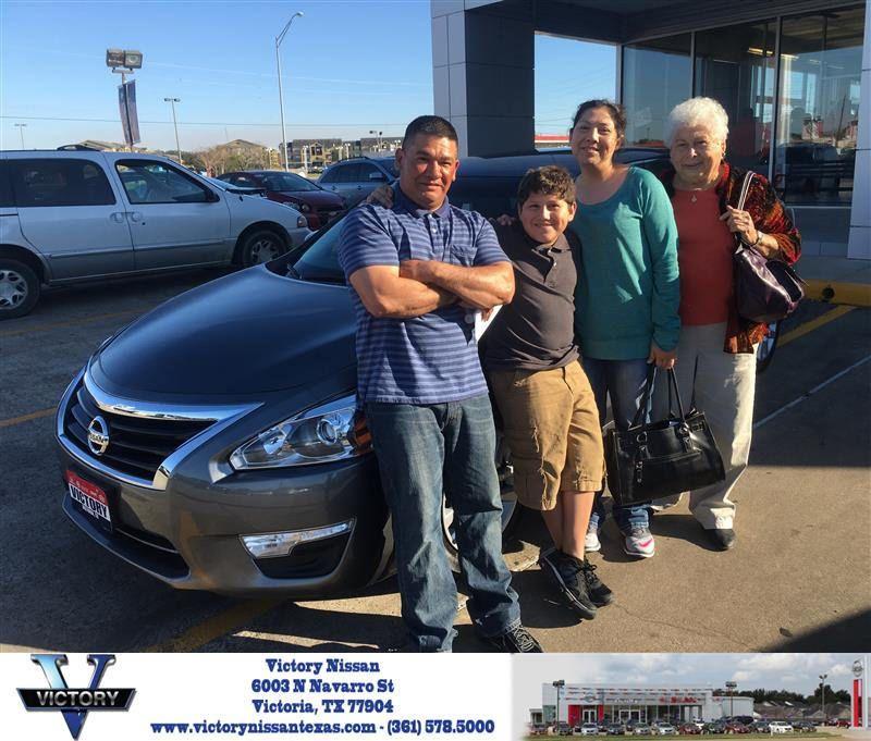 Congratulations Rosita On Your Nissan Altima From Joseph Garrett At Victory Nissan Joseph Garrett Nissan Altima