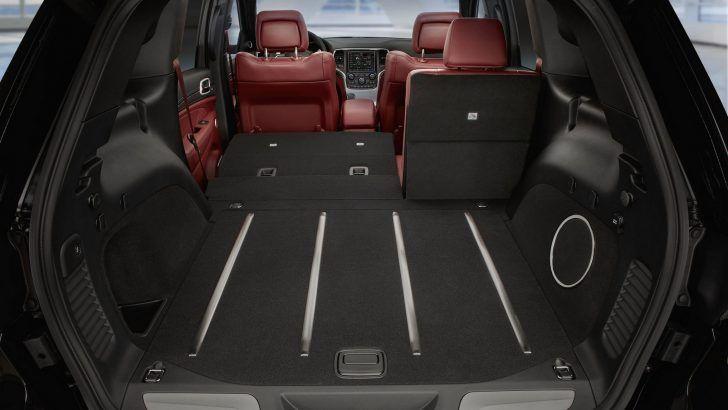 2018 Jeep Grand Cherokee Trackhawk Cargo Space Jeep Grand