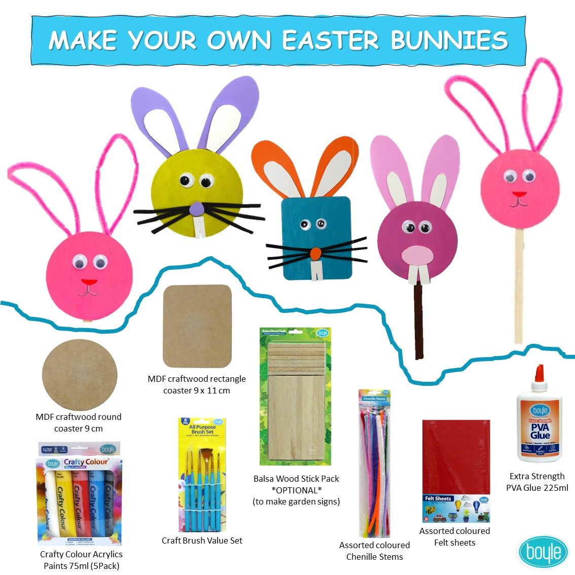 Be crafty this Easter and make your own