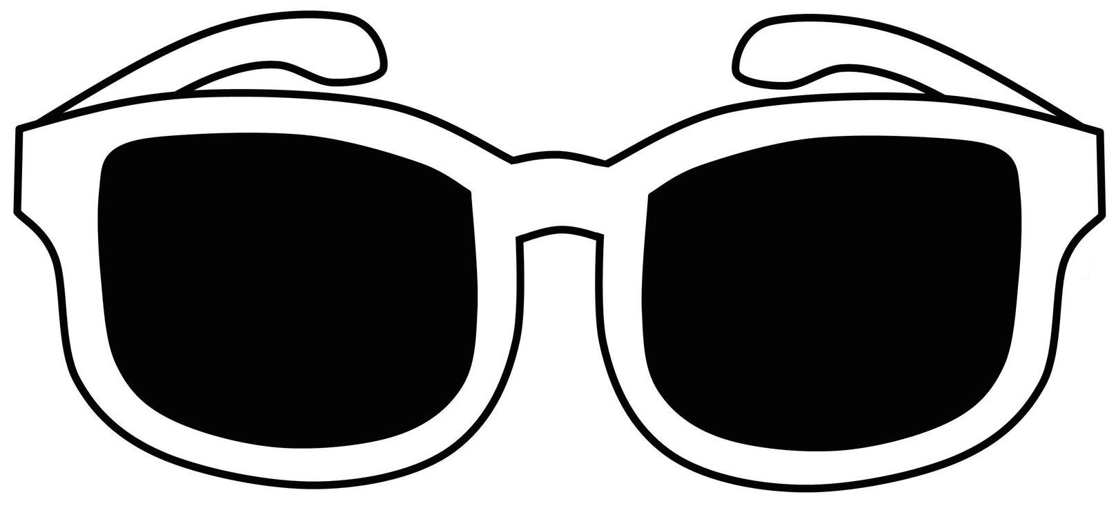 kleurplaat zonnebril zonnebril kleurplaten doe het