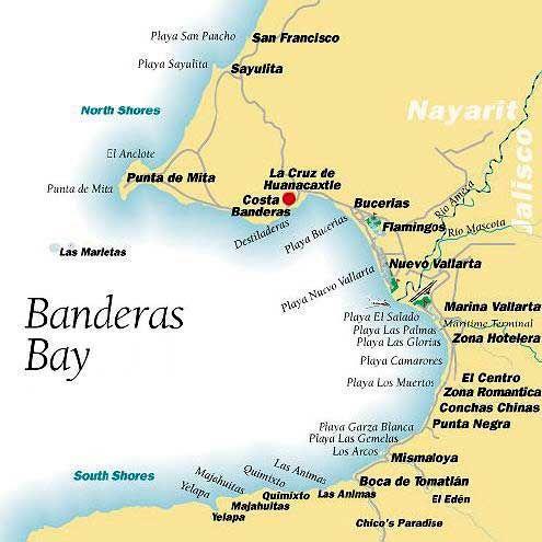 Bahia De Banderas Puerto Vallarta Bucerias Puerto Vallarta Mexico Beach