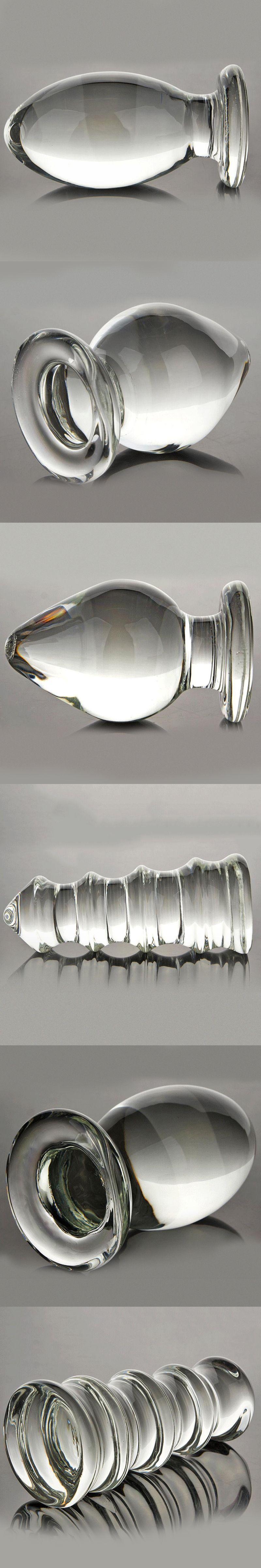 Glass Cigar Tube Anus