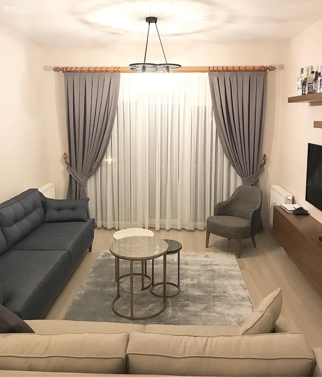 100+ Background Curtain Model and Decoration Ideas | House Trip -  A comfortable and friendly house in a modern line.  - #antiquedecor #apartmentdecor #background #bedroomdecor #curtain #decoration #homedecor #house #ideas #model #trip