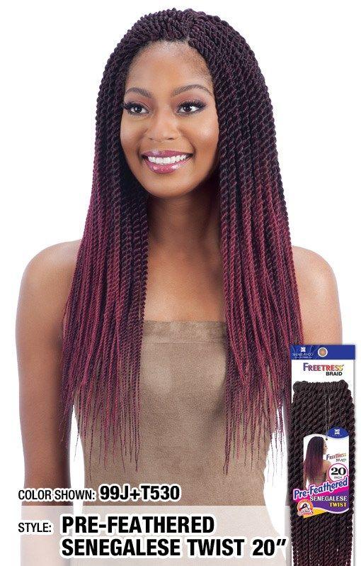 2X NIGERIAN PRE - STRETCHED TWIST 20 | Crochet hair