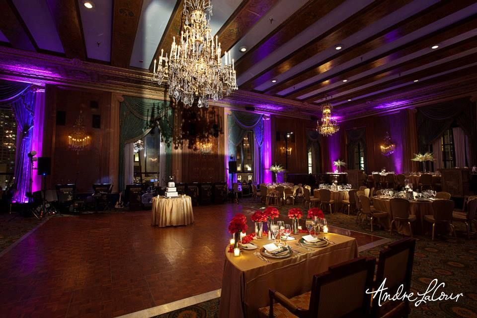 Intercontinental Chicago Magnificent Mile Reception And Wedding