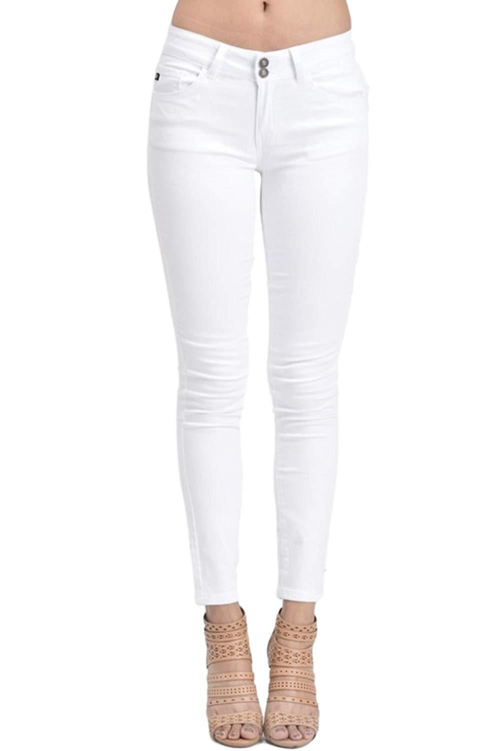 7b247d400479f KAN CAN Womens Mid Rise Ankle Length Skinny Jeans at Amazon Womens Jeans  store