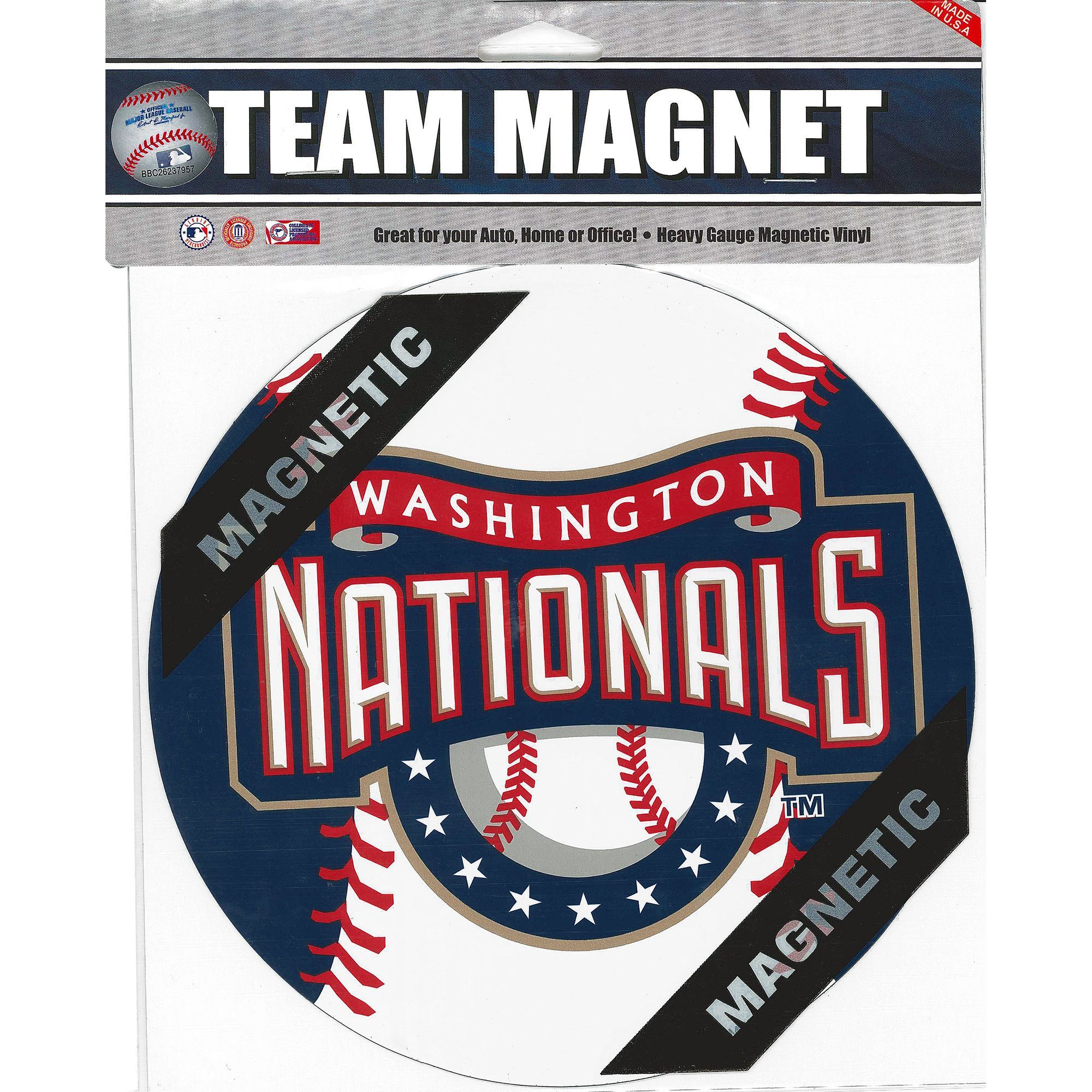 MGWN Car Magnet  Inch Washington Nationals Car Magnets - Custom car magnets atlanta