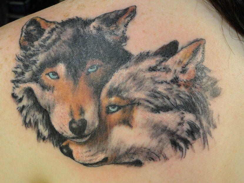 Tatuajes De Lobos Los 50 Mejores Y Sus Significados Aullando 5