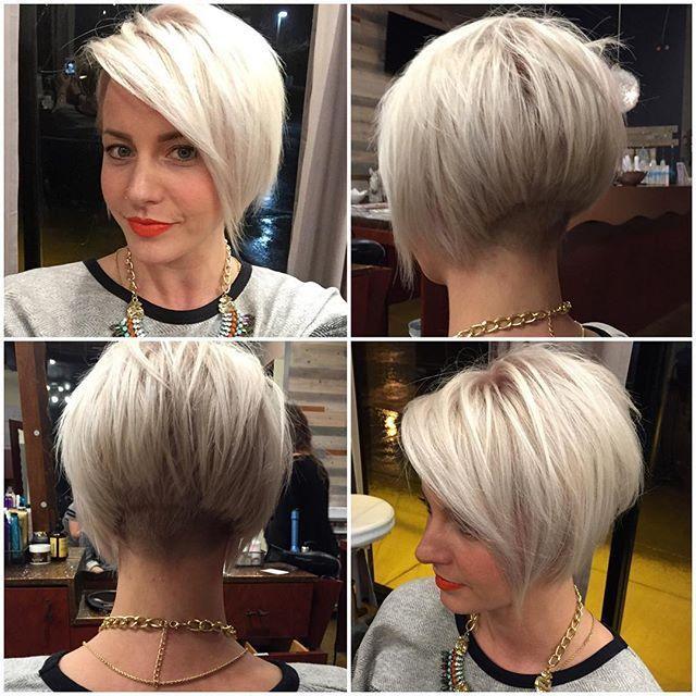 Image Result For Women S Undercut Layered Bob Trendy Short Hair Styles Bob Haircut For Fine Hair Hair Styles