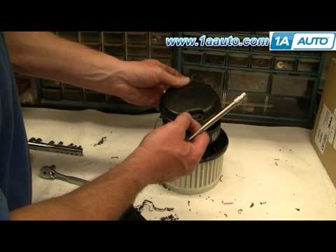 How To Install Replace AC Heater Fan Blower Motor Chevy ...  Hummer H Blower Motor Resistor Wiring Harness on hummer h3 heater fan fuse, hummer h3 heater harness, h3 blower motor wiring harness,