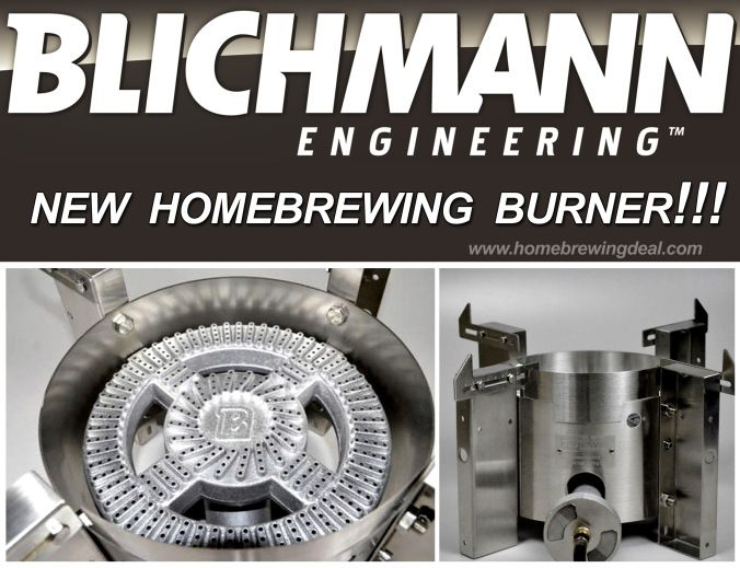 Stainless Steel Homebrewing Burner From Blichmann