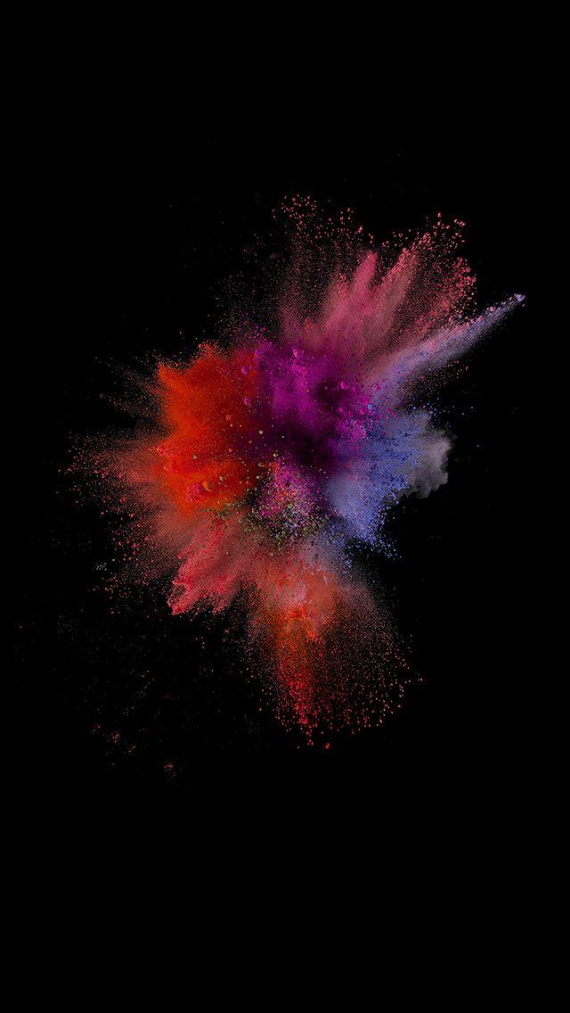 an66-ios9-sparkle-color-red-apple-crayon-dark-iphone6 ...