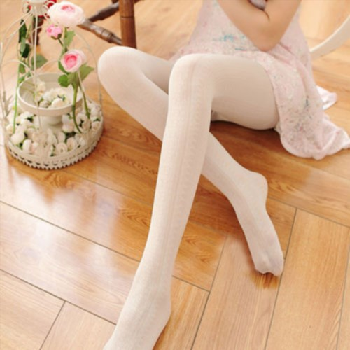 2.36$  Buy now - http://visux.justgood.pw/vig/item.php?t=td4iqpd41627 - Fashion Women Spring Autumn Tights Crochet Lace Lolita Vertical Strips Pantyhose