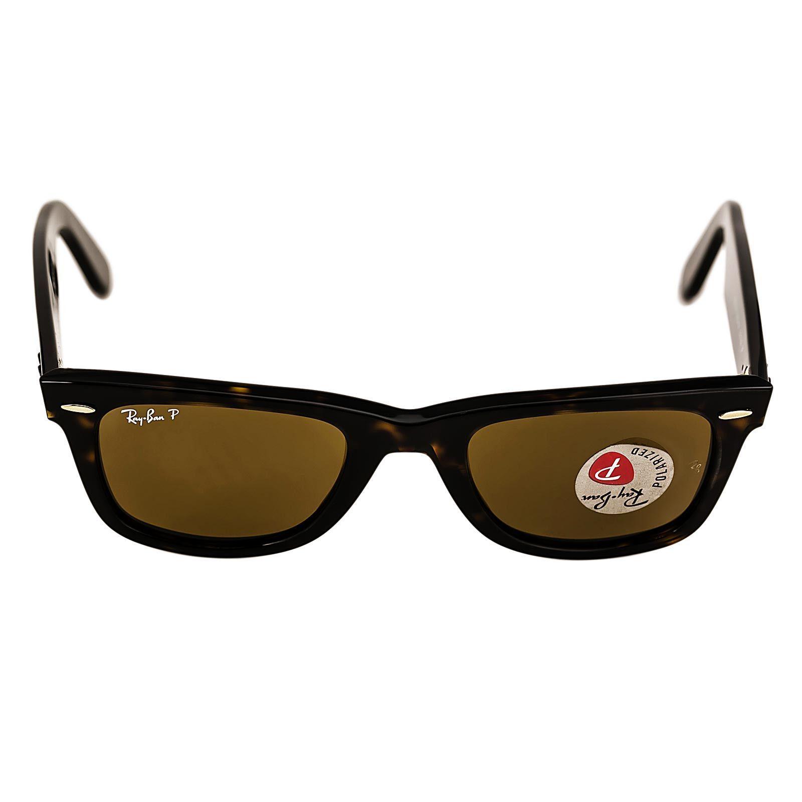 ray ban polarized lenses glass or plastic