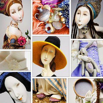 Gulya Alekseeva - dolls