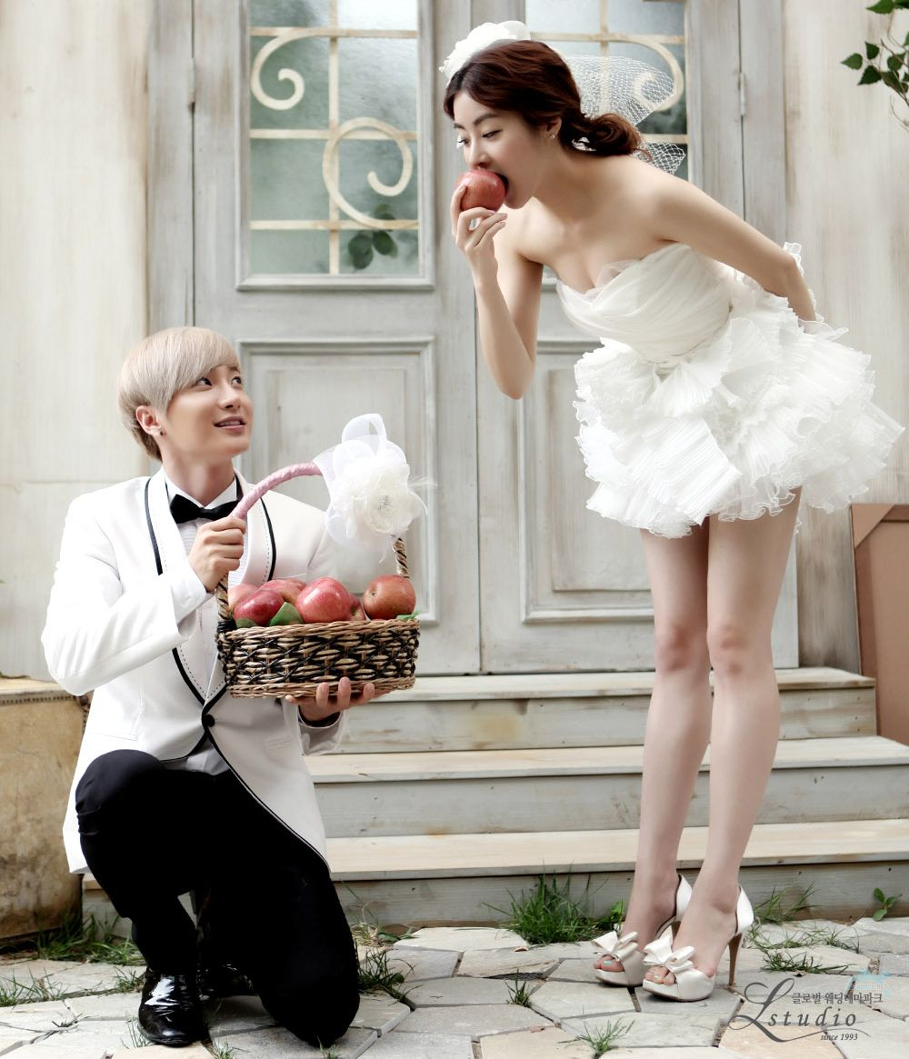 Lee Teuk & Kang Sora : We Got Married (Pre Wedding