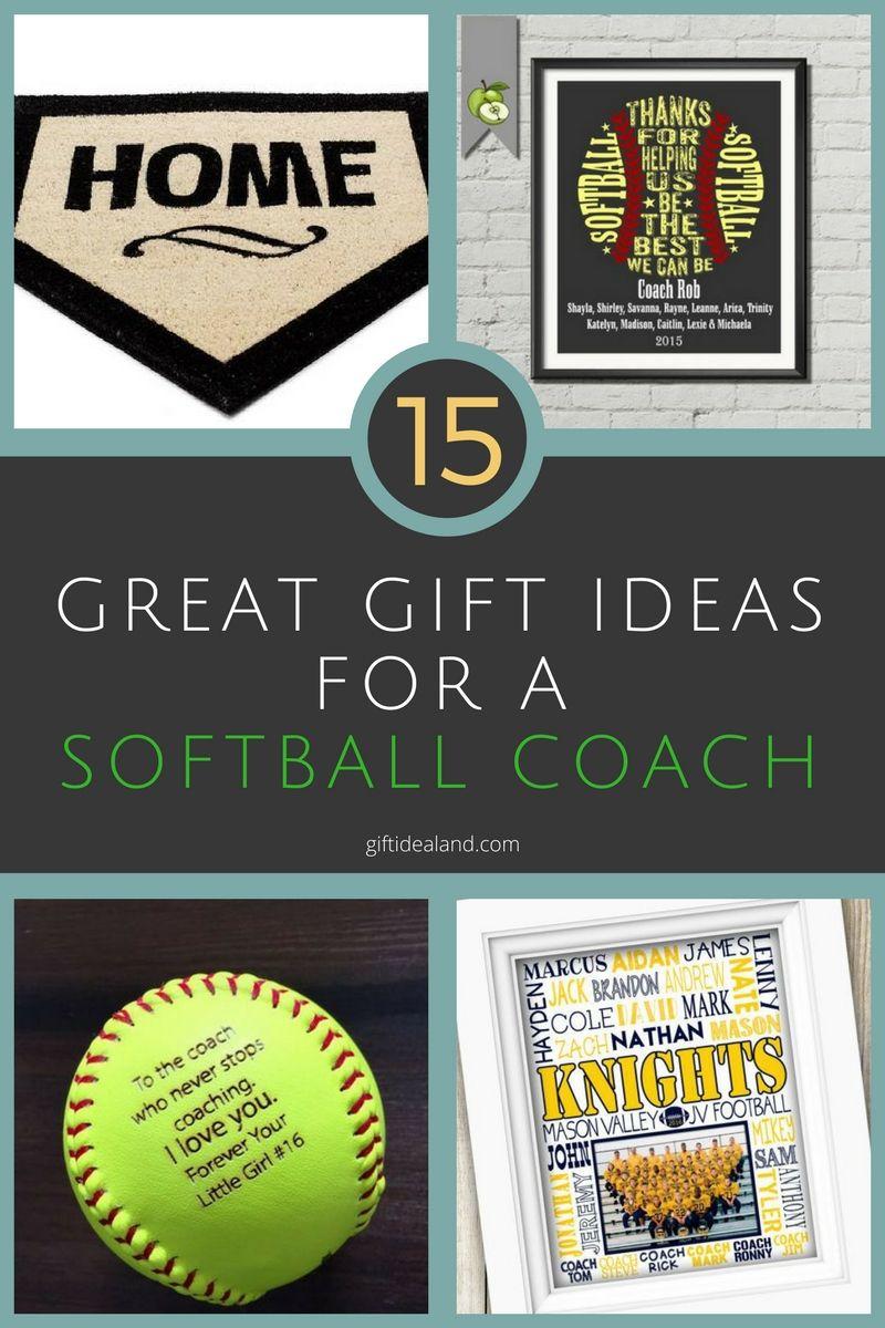 15 Best Softball Coach Gift Ideas