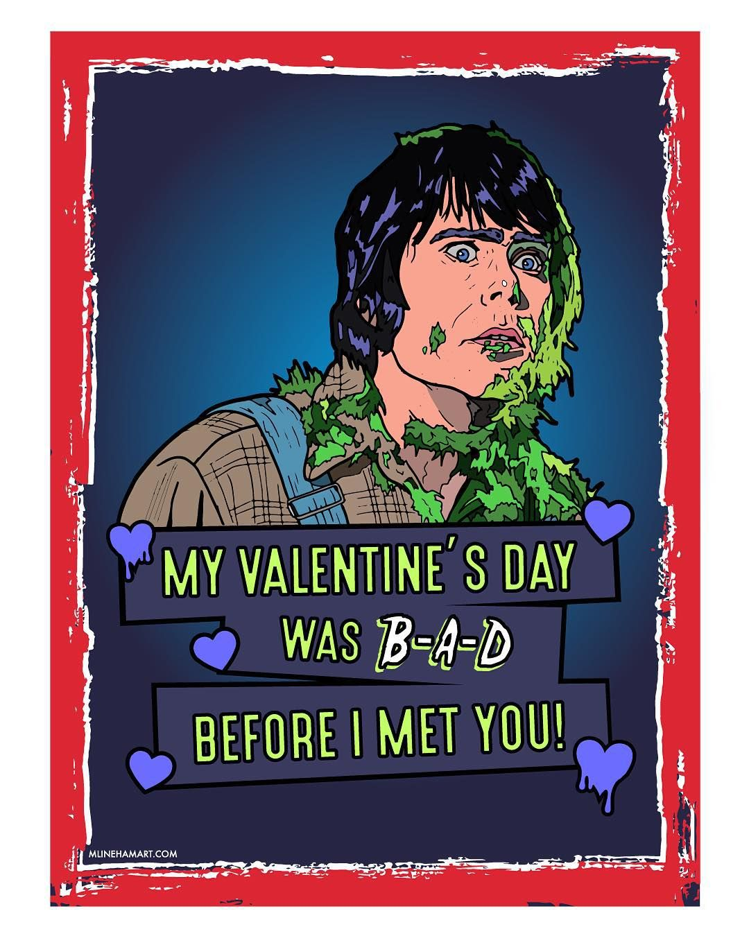 8 Horror Movie Themed Valentine S Day Cards For Your Sick Twisted Sweetie Nightmare On Film Street Horror Movie Quotes Michael Myers Michael Myers Halloween